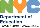 Approved by the Department of Education of New York